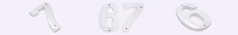 Numery białe